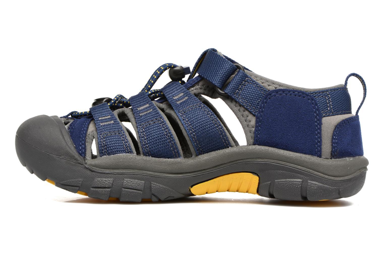 Sandalen Keen Newport H2 blau ansicht von vorne