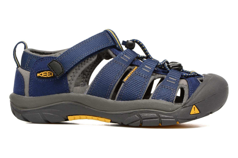 Sandales et nu-pieds Keen Newport H2 Bleu vue derrière