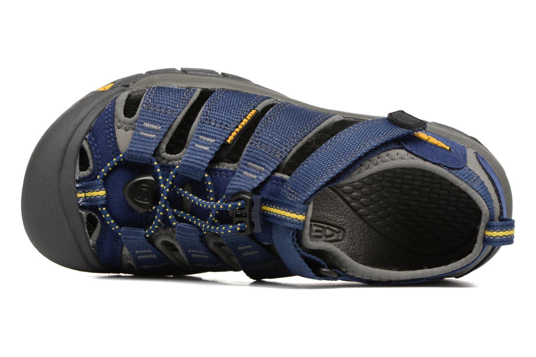 Sandalen Keen Newport H2 blau ansicht von links
