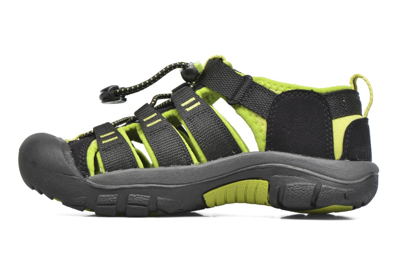 Sandales et nu-pieds Keen Newport H2 Noir vue face