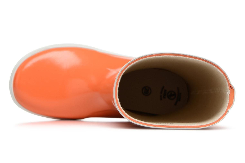 Bottes Aigle Lolly Pop Orange vue gauche