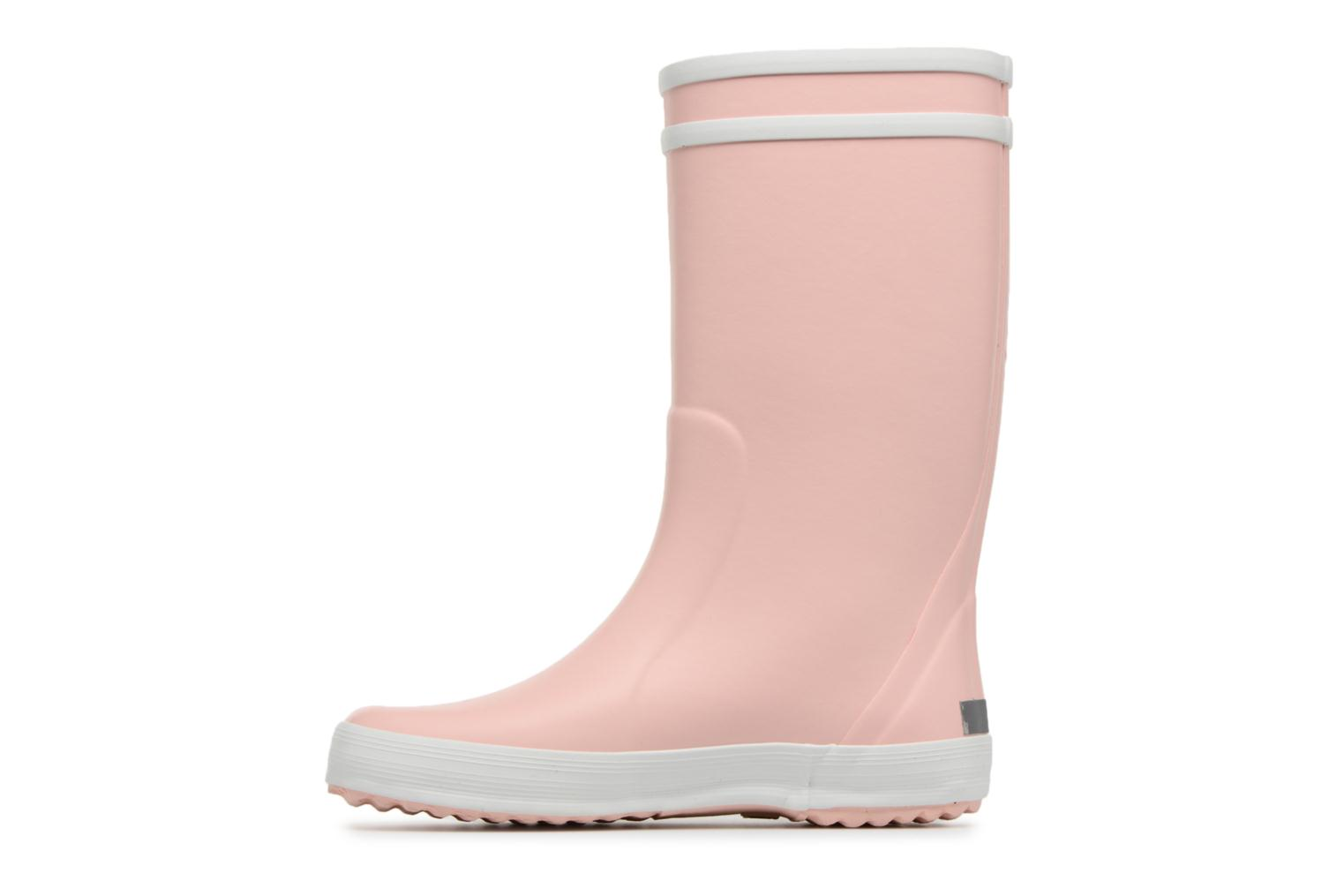 Botas Aigle Lolly Pop Rosa vista de frente