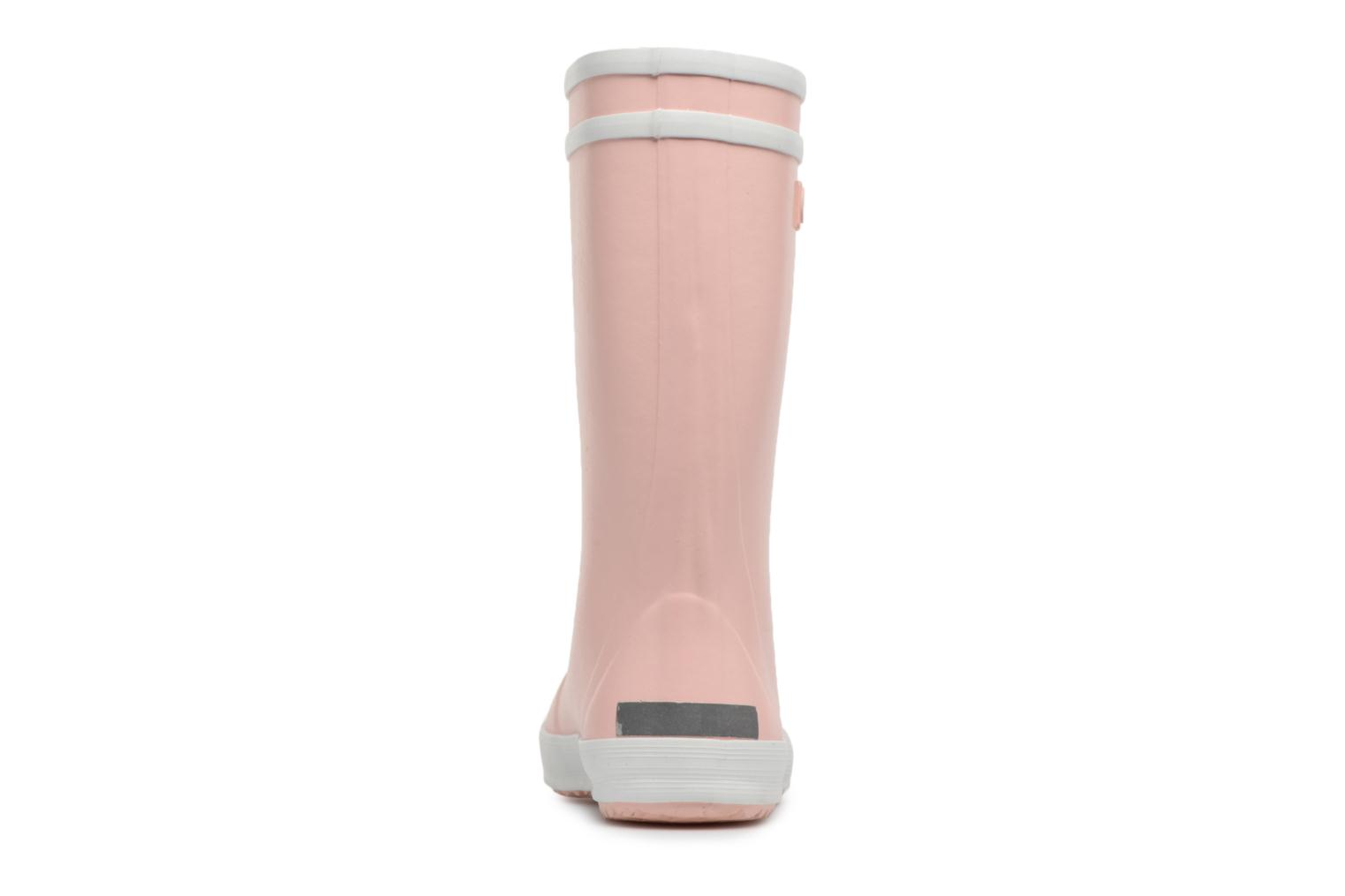 Botas Aigle Lolly Pop Rosa vista lateral derecha