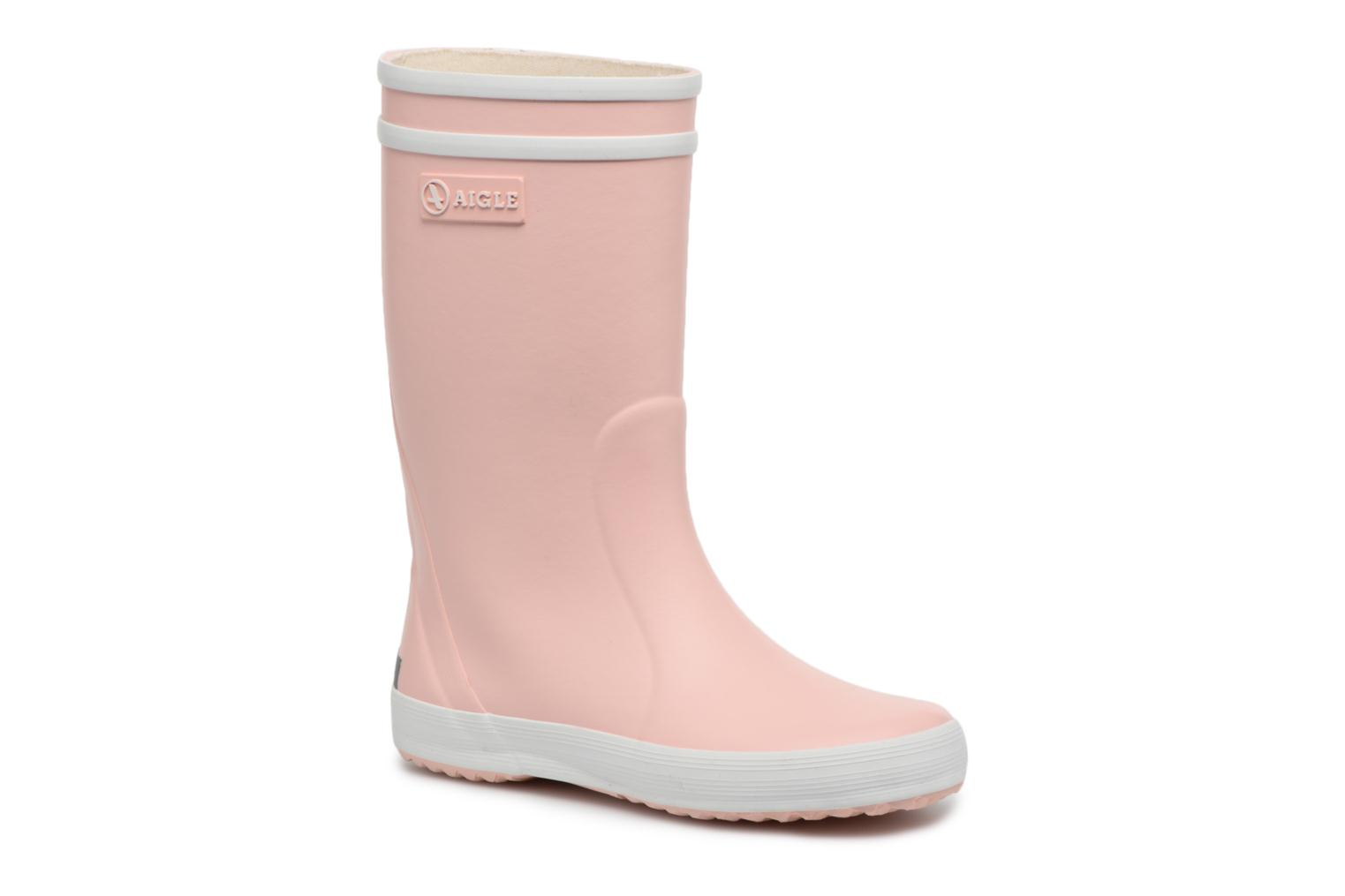 Botas Aigle Lolly Pop Rosa vista de detalle / par
