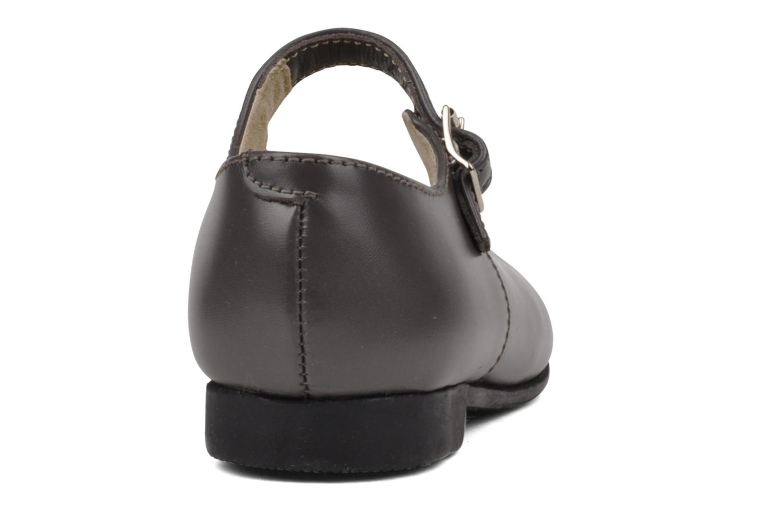 Clare Grey leather