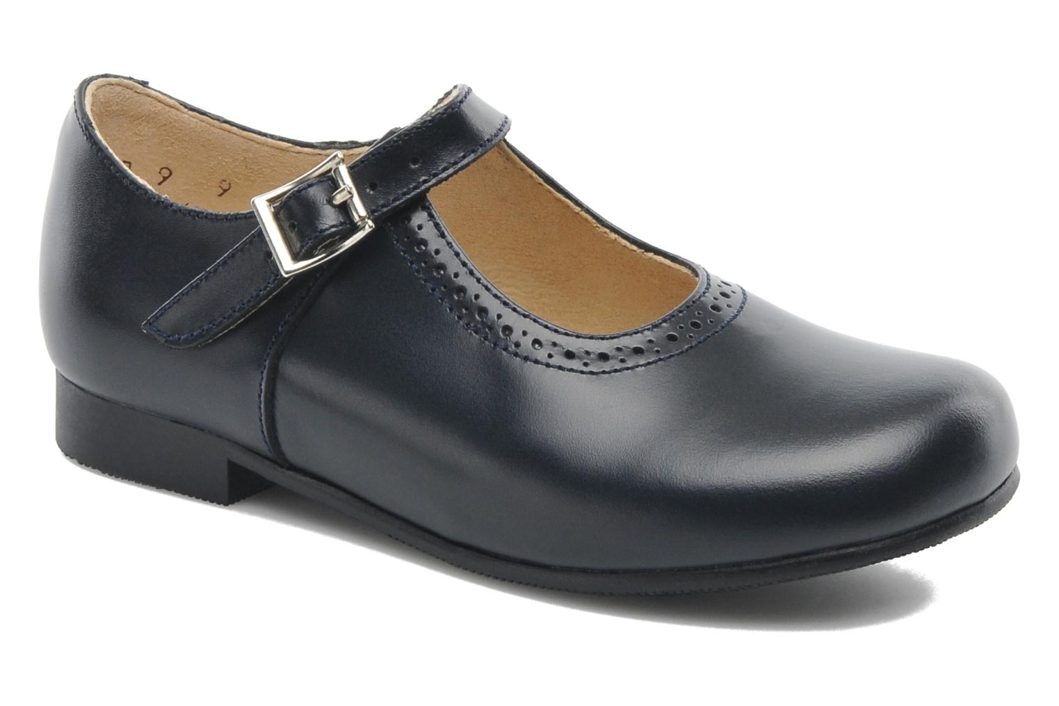 Clare Navy leather