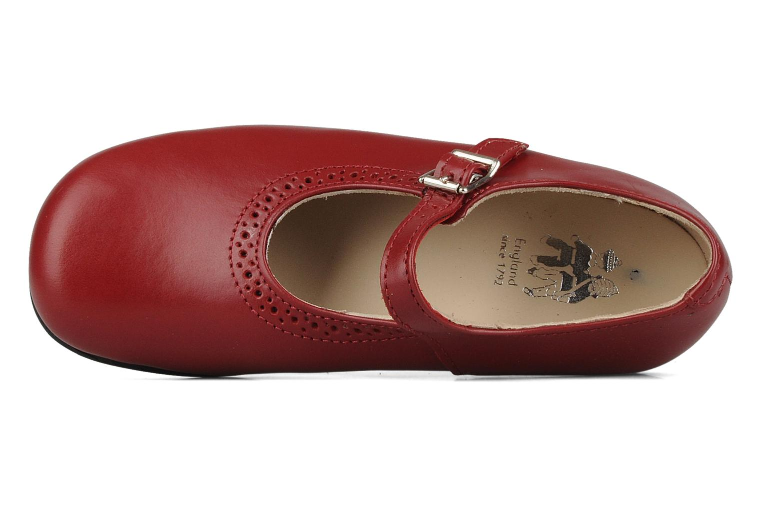Ballet pumps Start Rite Clare Red view from the left