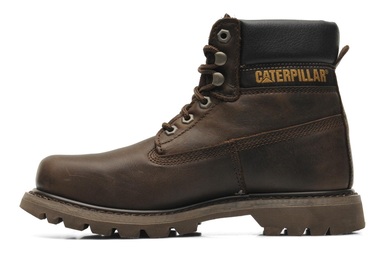 Boots en enkellaarsjes Caterpillar Colorado Bruin voorkant