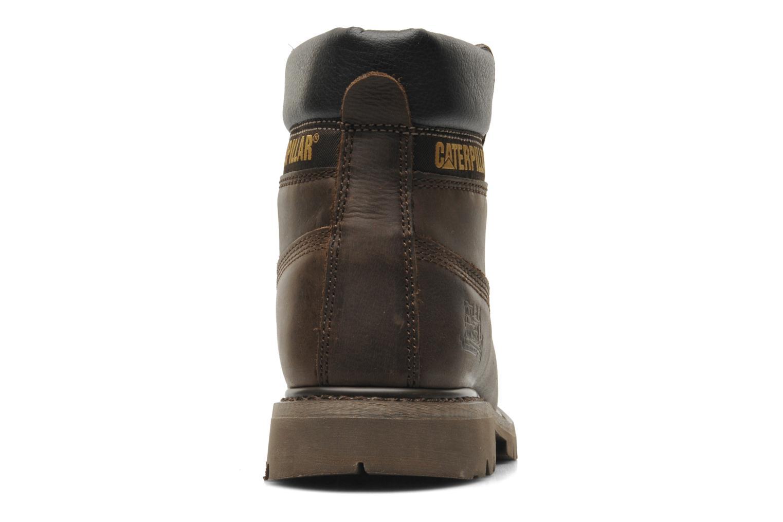 Boots en enkellaarsjes Caterpillar Colorado Bruin rechts
