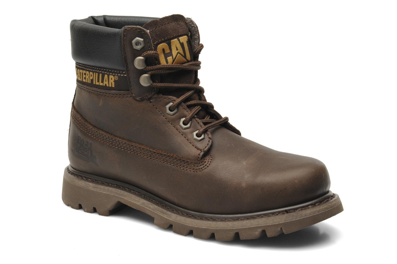 Boots en enkellaarsjes Caterpillar Colorado Bruin detail