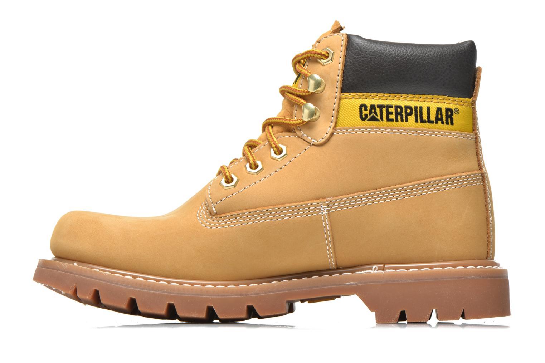 Stiefeletten & Boots Caterpillar Colorado beige ansicht von vorne