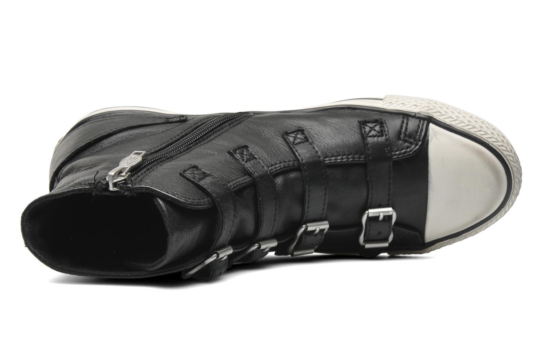 Sneaker Ash Virgin schwarz ansicht von links
