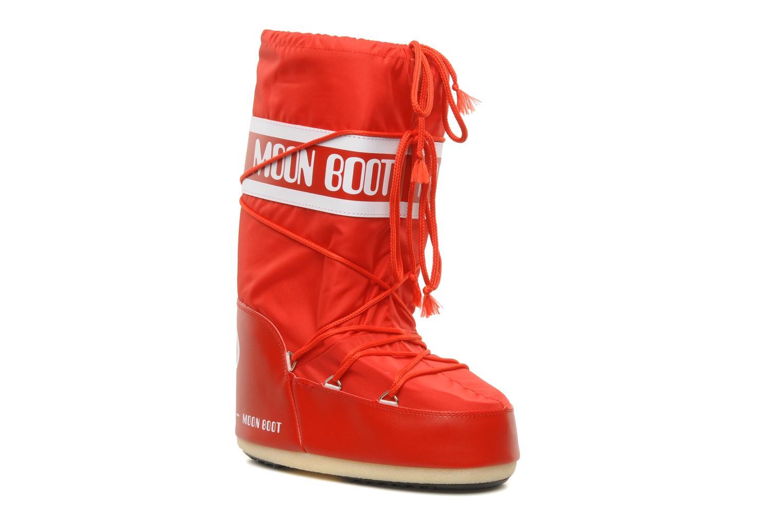 Zapatillas de deporte Moon Boot Moon Boot Nylon Rojo vista de detalle / par