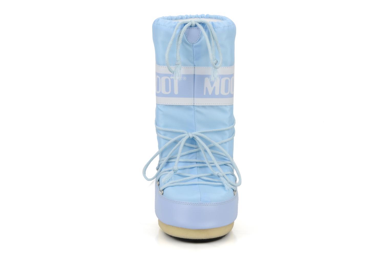 Moon Boot Nylon Bleu ciel