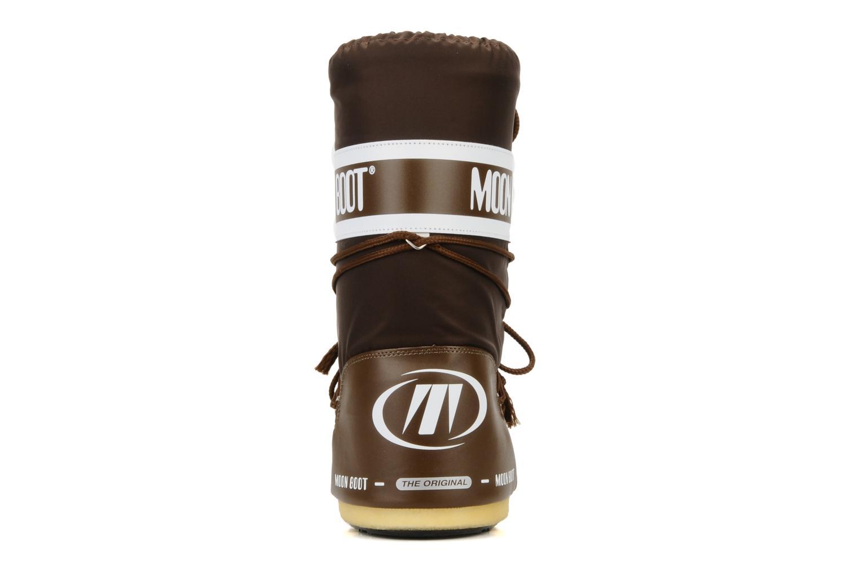 Chaussures de sport Moon Boot Moon Boot Nylon W Marron vue droite