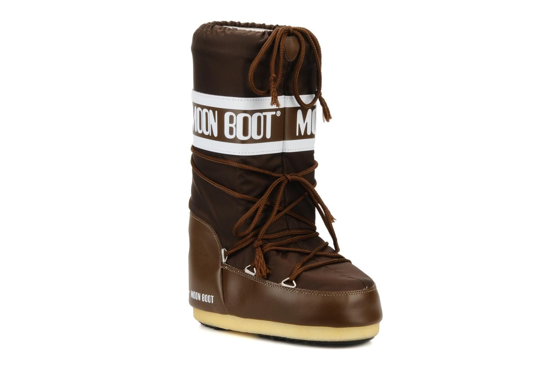 Grandes descuentos últimos zapatos Moon Boot Moon Boot Nylon (Marrón) - Zapatillas de deporte Descuento
