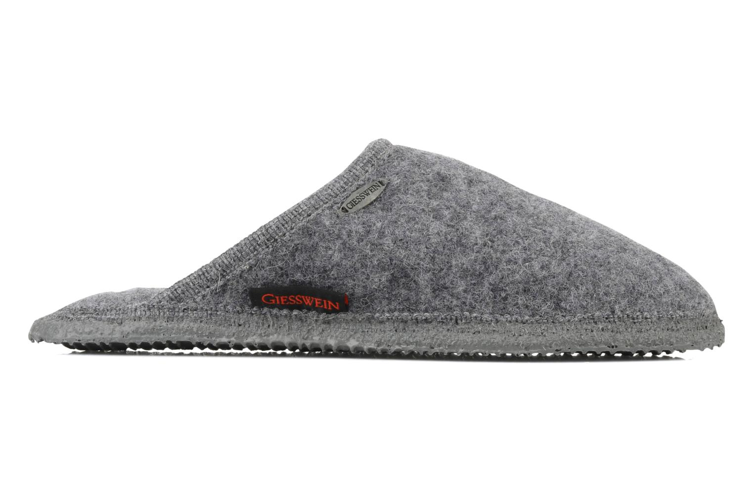 Slippers Giesswein Tino Grey back view