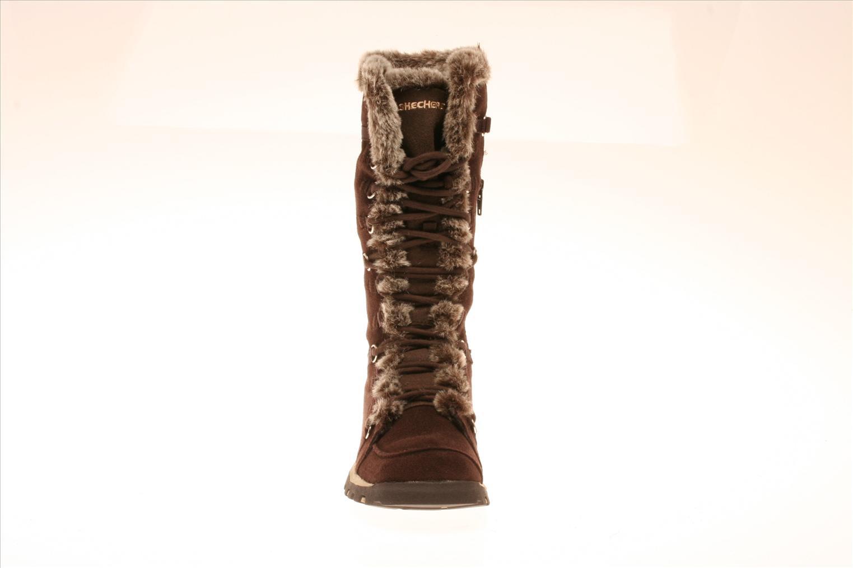 Zapatillas de deporte Skechers Unlimited Marrón vista del modelo