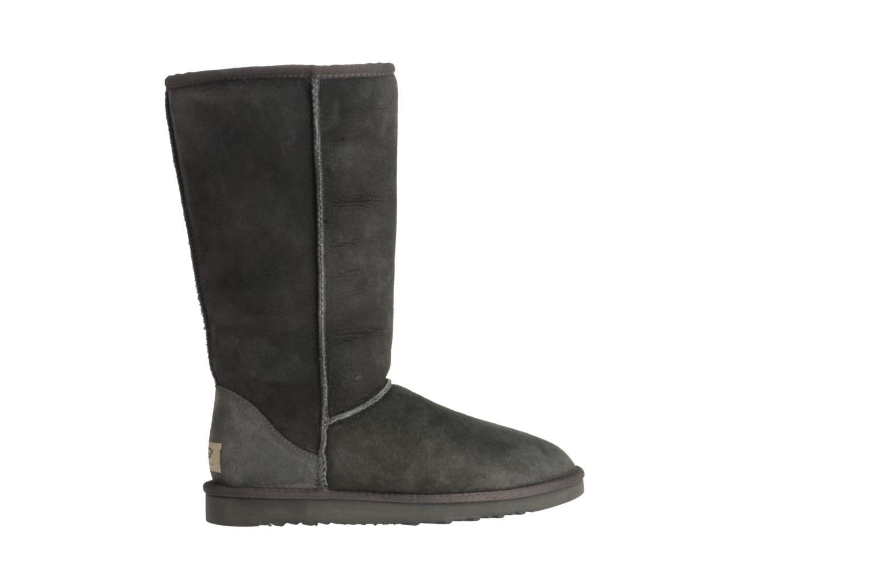 Bottines et boots UGG Classic Tall Gris vue derrière