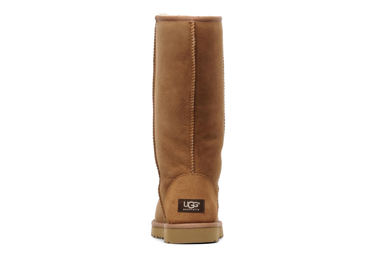 Stiefeletten & Boots UGG Classic Tall beige ansicht von rechts
