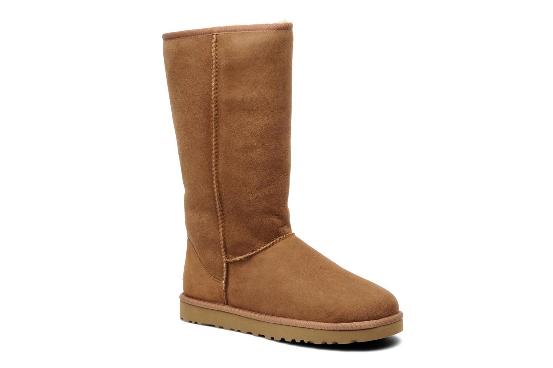 Stiefeletten & Boots UGG Classic Tall beige detaillierte ansicht/modell