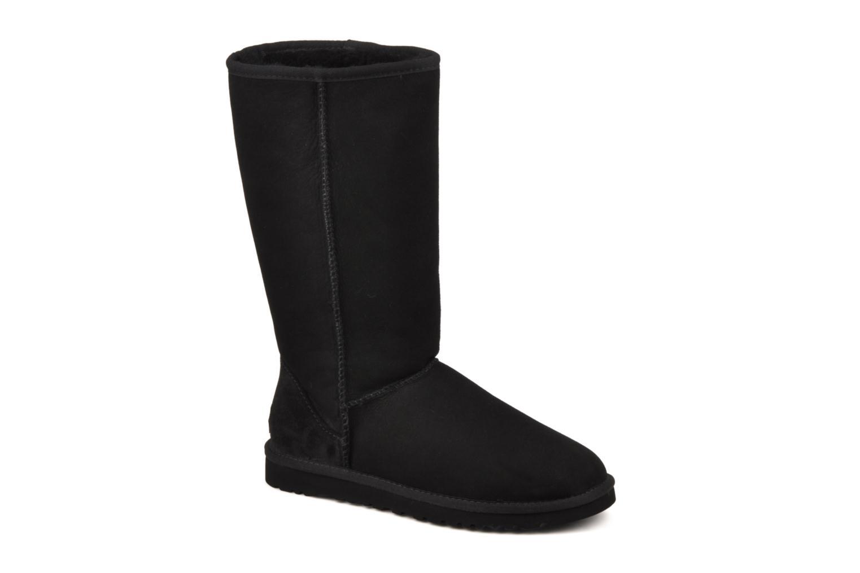 Bottines et boots UGG Classic Tall Noir vue détail/paire