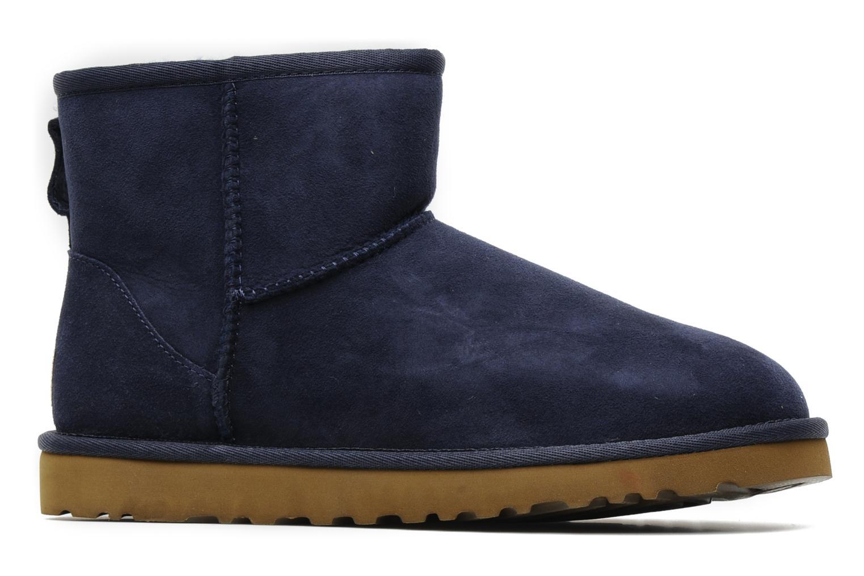 Bottines et boots UGG Classic Mini Bleu vue derrière