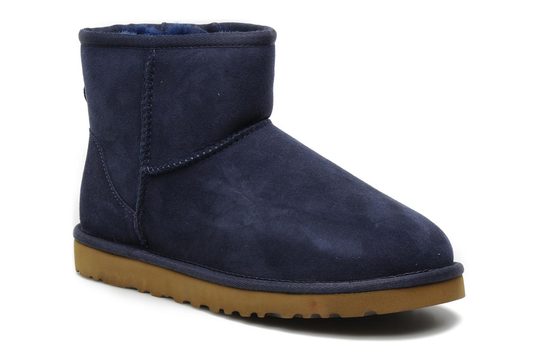 Bottines et boots UGG Classic Mini Bleu vue détail/paire