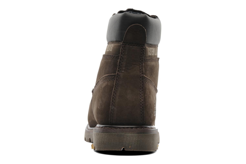 Bottines et boots Caterpillar Colorado Marron vue droite