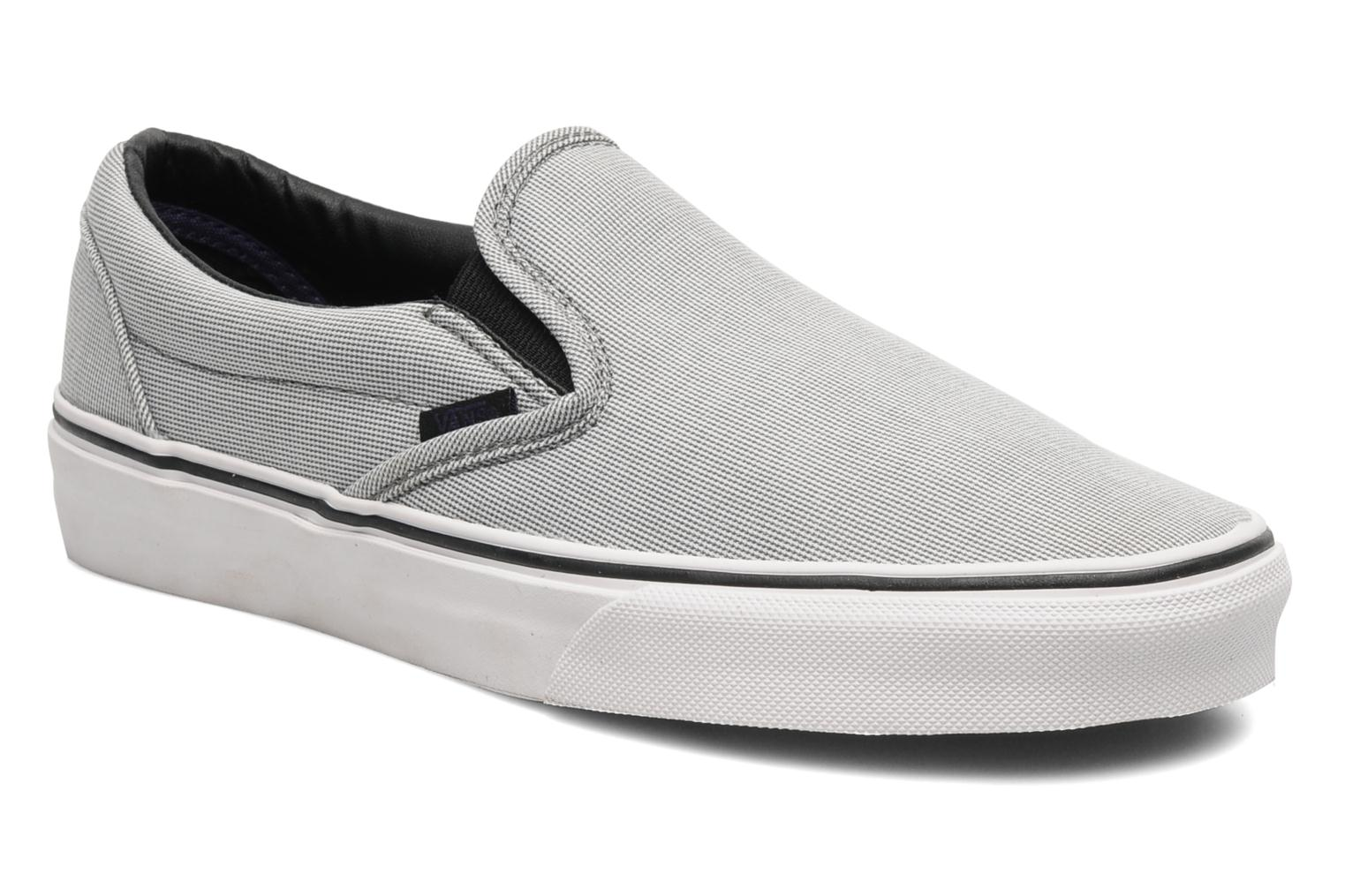 Black Carreau Vans Classic Slip On W (Noir)
