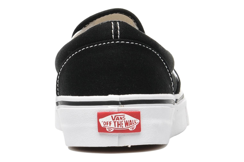 Sneakers Vans Classic Slip On W Zwart rechts