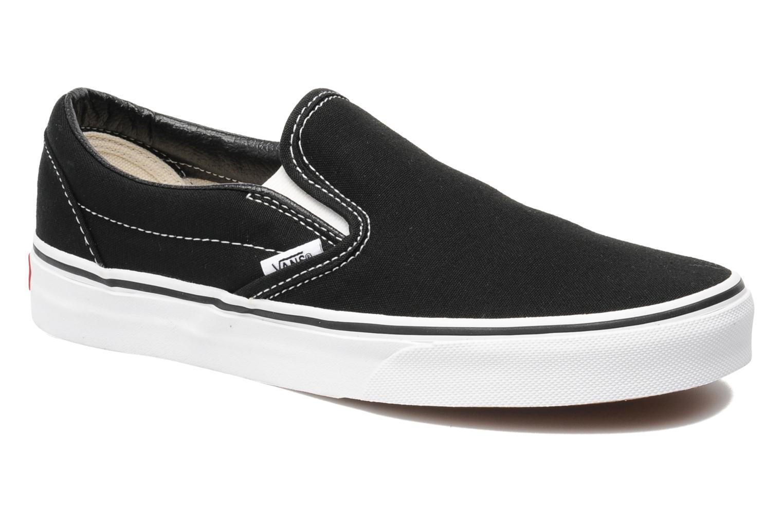Los zapatos más populares para hombres y mujeres Vans Classic Slip On W (Negro) - Deportivas en Más cómodo