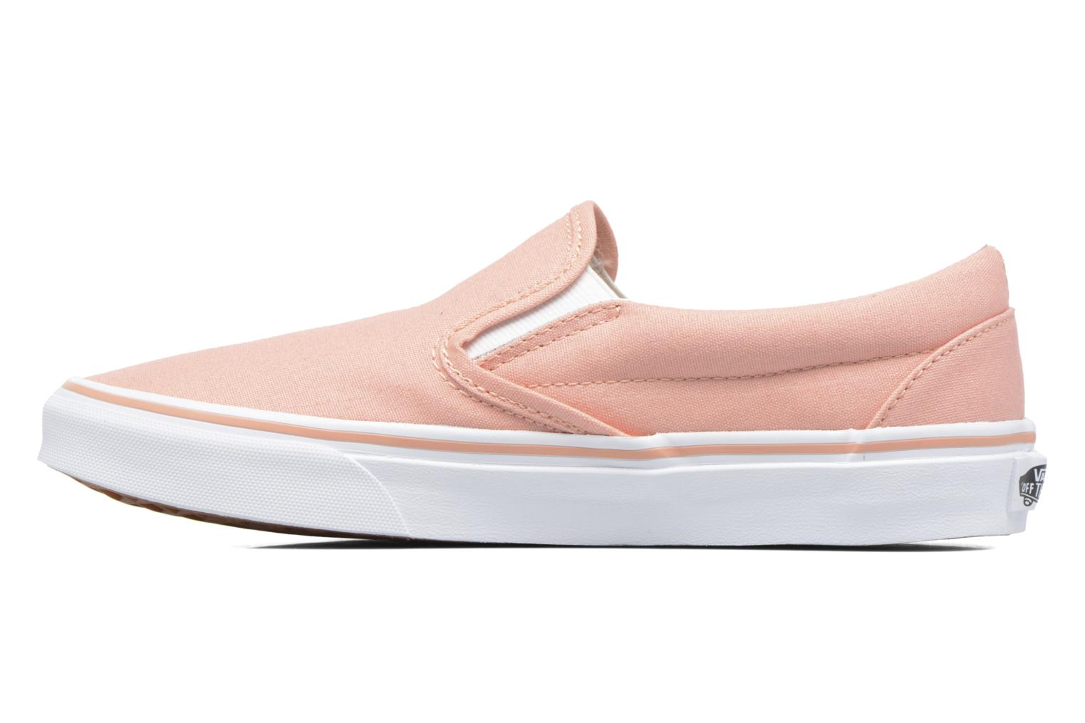 Baskets Vans Classic Slip On W Rose vue face