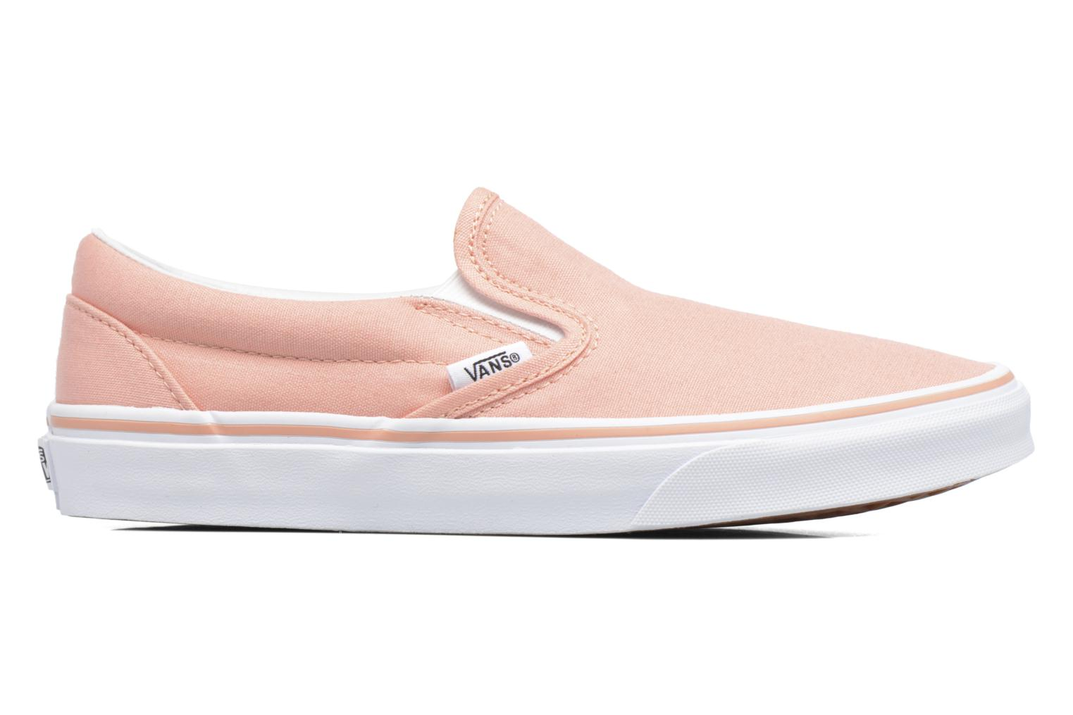 Baskets Vans Classic Slip On W Rose vue derrière