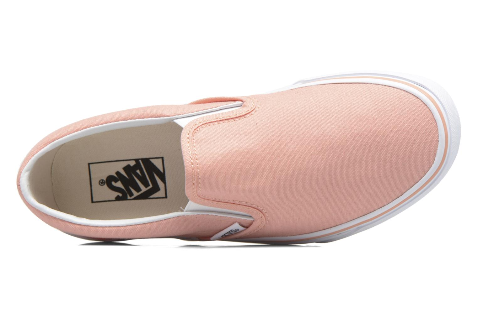 Baskets Vans Classic Slip On W Rose vue gauche