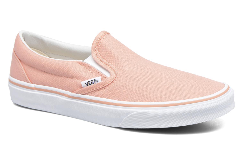Sneakers Vans Classic Slip On W Rosa detaljerad bild på paret