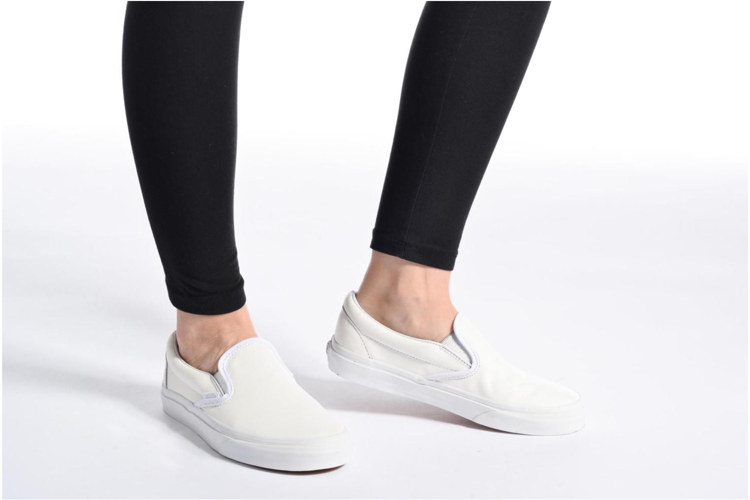 Sneakers Vans Classic Slip On W Wit onder