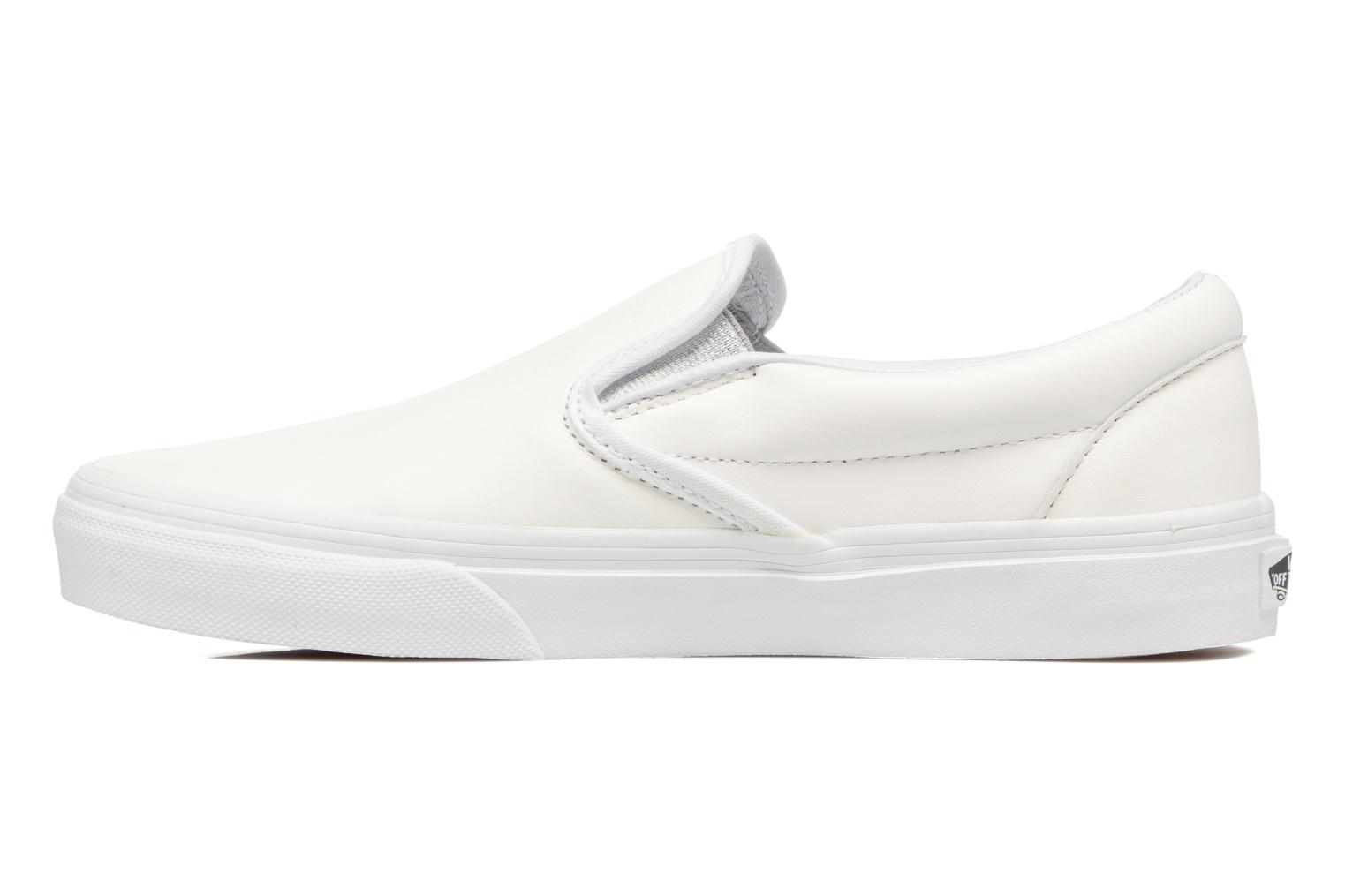 Baskets Vans Classic Slip On W Blanc vue face