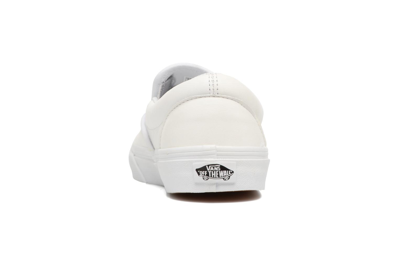 Sneakers Vans Classic Slip On W Wit rechts