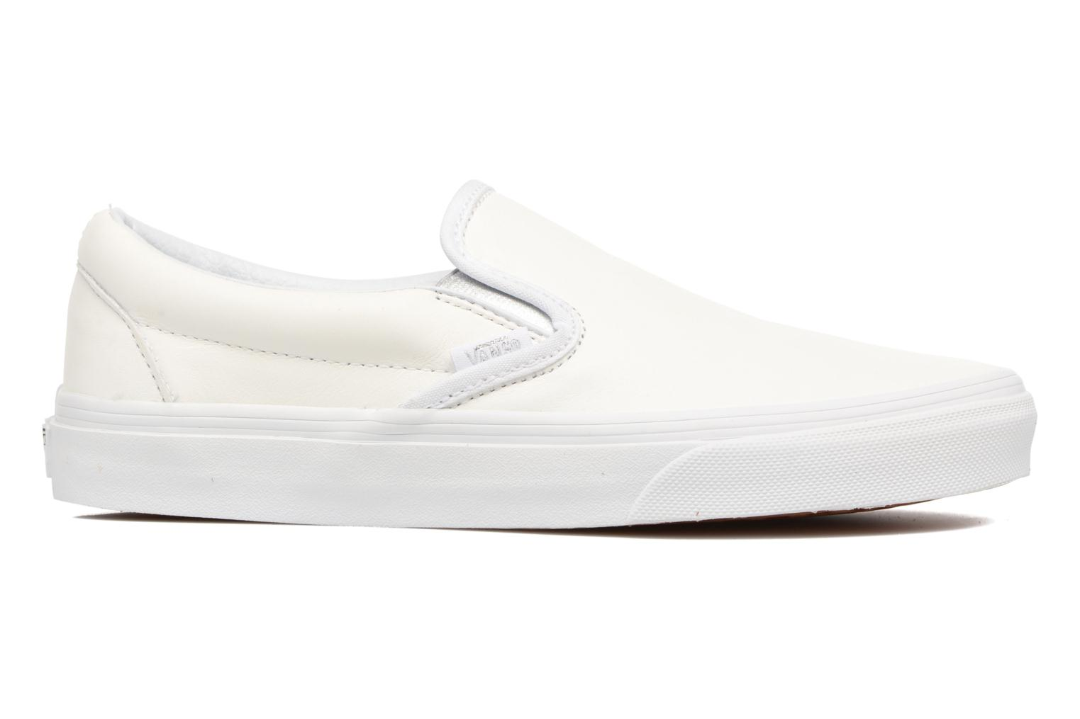 Sneakers Vans Classic Slip On W Wit achterkant