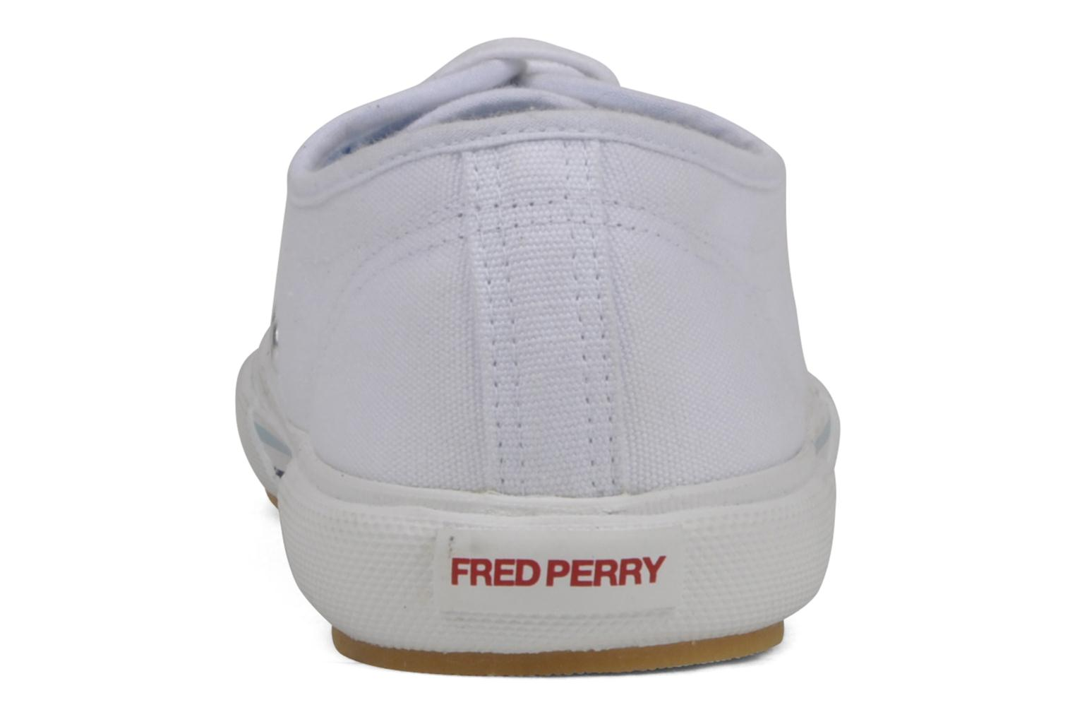 Baskets Fred Perry B708 Blanc vue droite