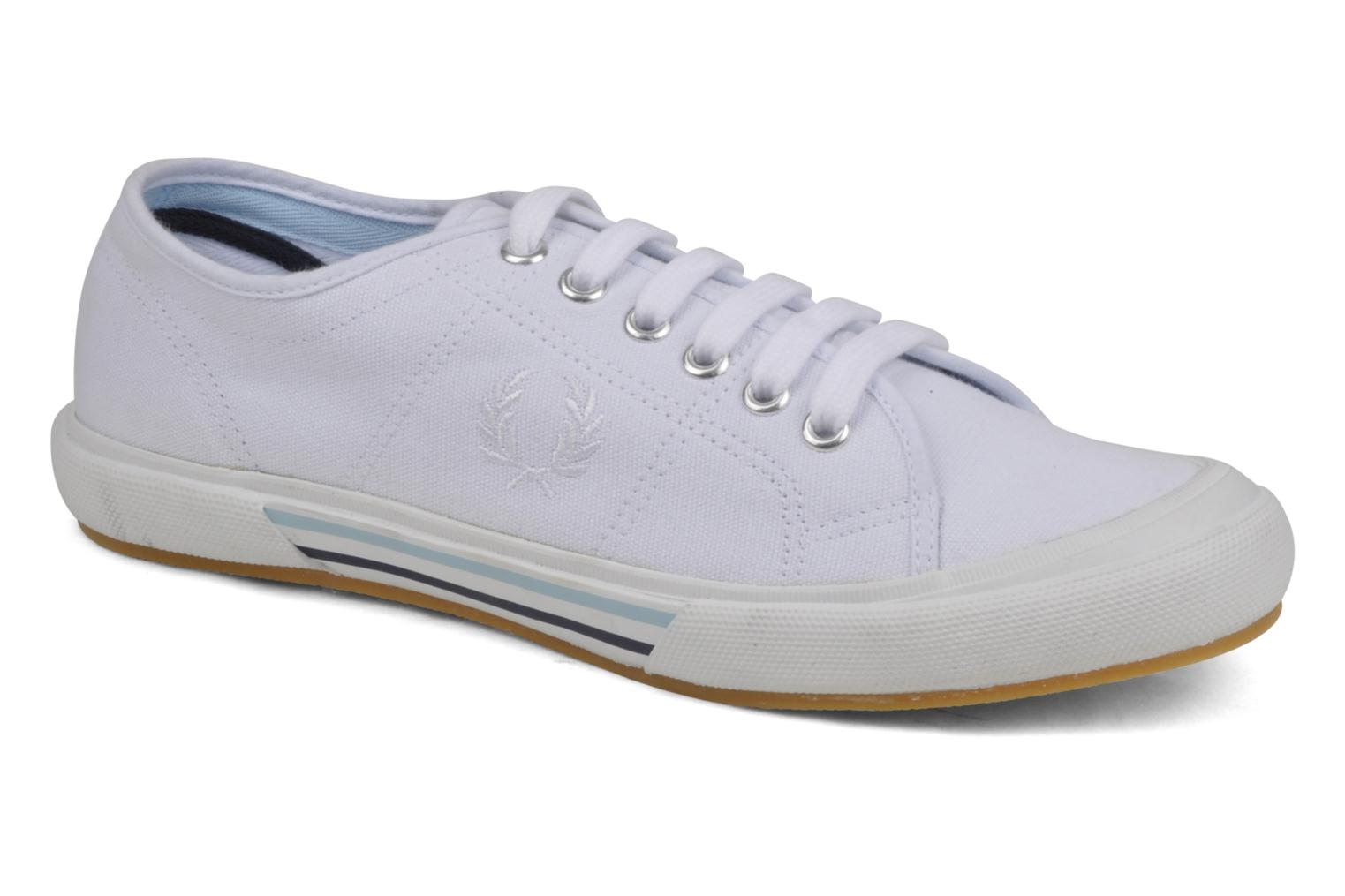 Baskets Fred Perry B708 Blanc vue détail/paire
