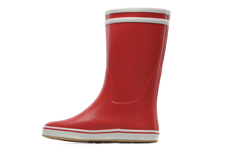 Bottines et boots Aigle Malouine Rouge vue face