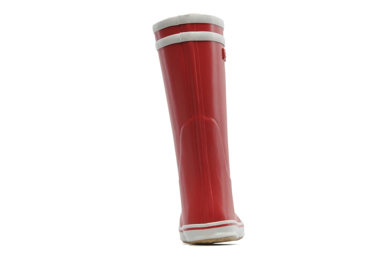 Bottines et boots Aigle Malouine Rouge vue droite