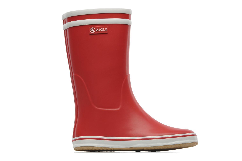 Bottines et boots Aigle Malouine Rouge vue derrière