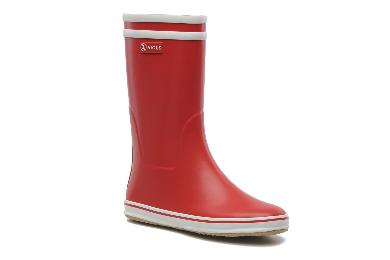 Bottines et boots Aigle Malouine Rouge vue détail/paire