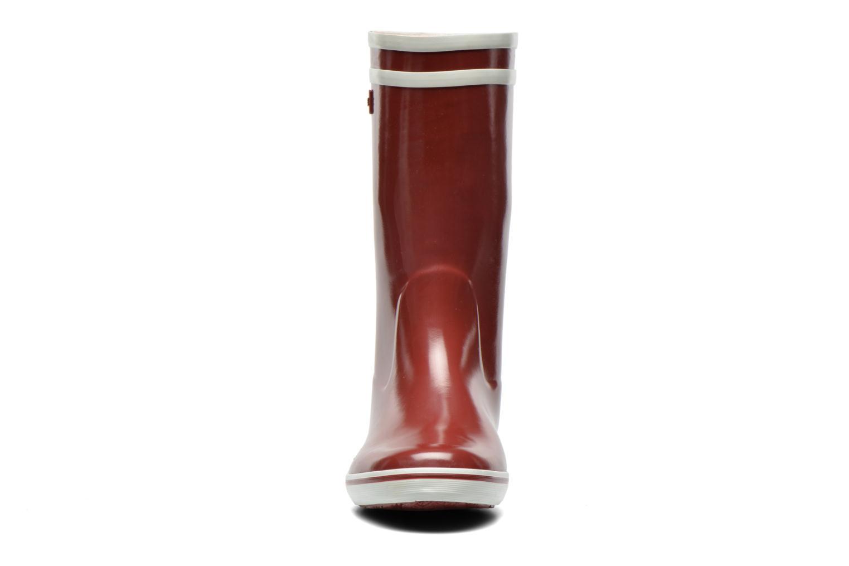 Stiefeletten & Boots Aigle Malouine weinrot schuhe getragen