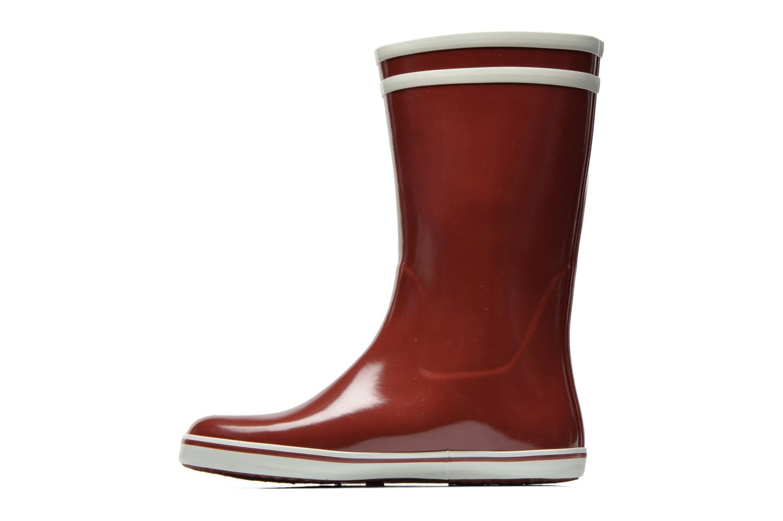 Ankle boots Aigle Malouine Burgundy front view