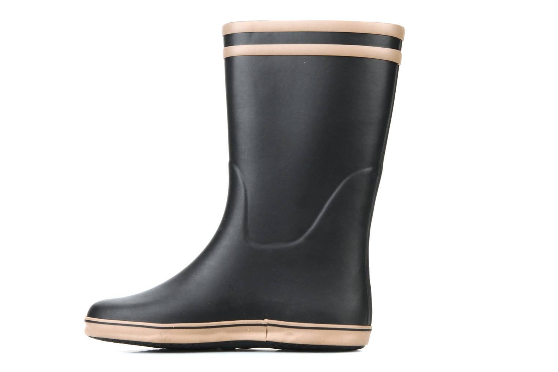 Bottines et boots Aigle Malouine Noir vue face