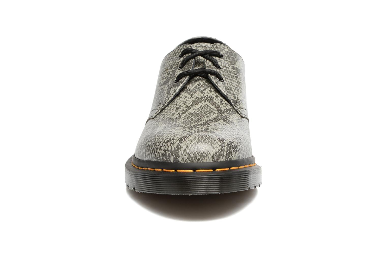 Chaussures à lacets Dr. Martens 1461 Gris vue portées chaussures